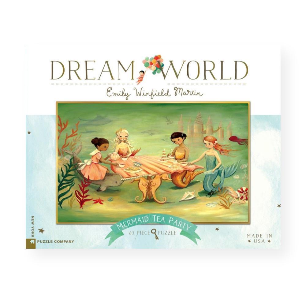 New York Puzzle Company Dream World Mermaid Tea Party Jigsaw Puzzle
