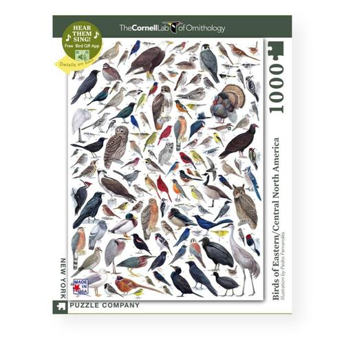 New York Puzzle Company Birds of Eastern/Central North America Jigsaw Puzzle 1000pc