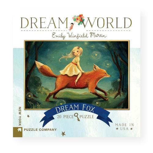 New York Puzzle Company Dream World Dream Fox Jigsaw Puzzle 20pc