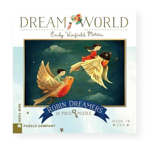 New York Puzzle Company Dream World Robin Dreamers Jigsaw Puzzle 20pc