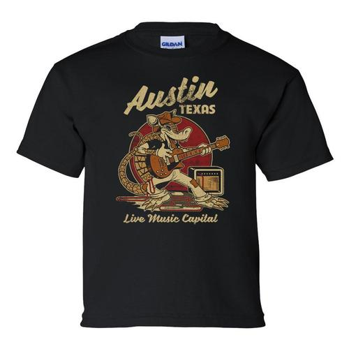 Outhouse Designs Youth Austin Rockadillo T-Shirt