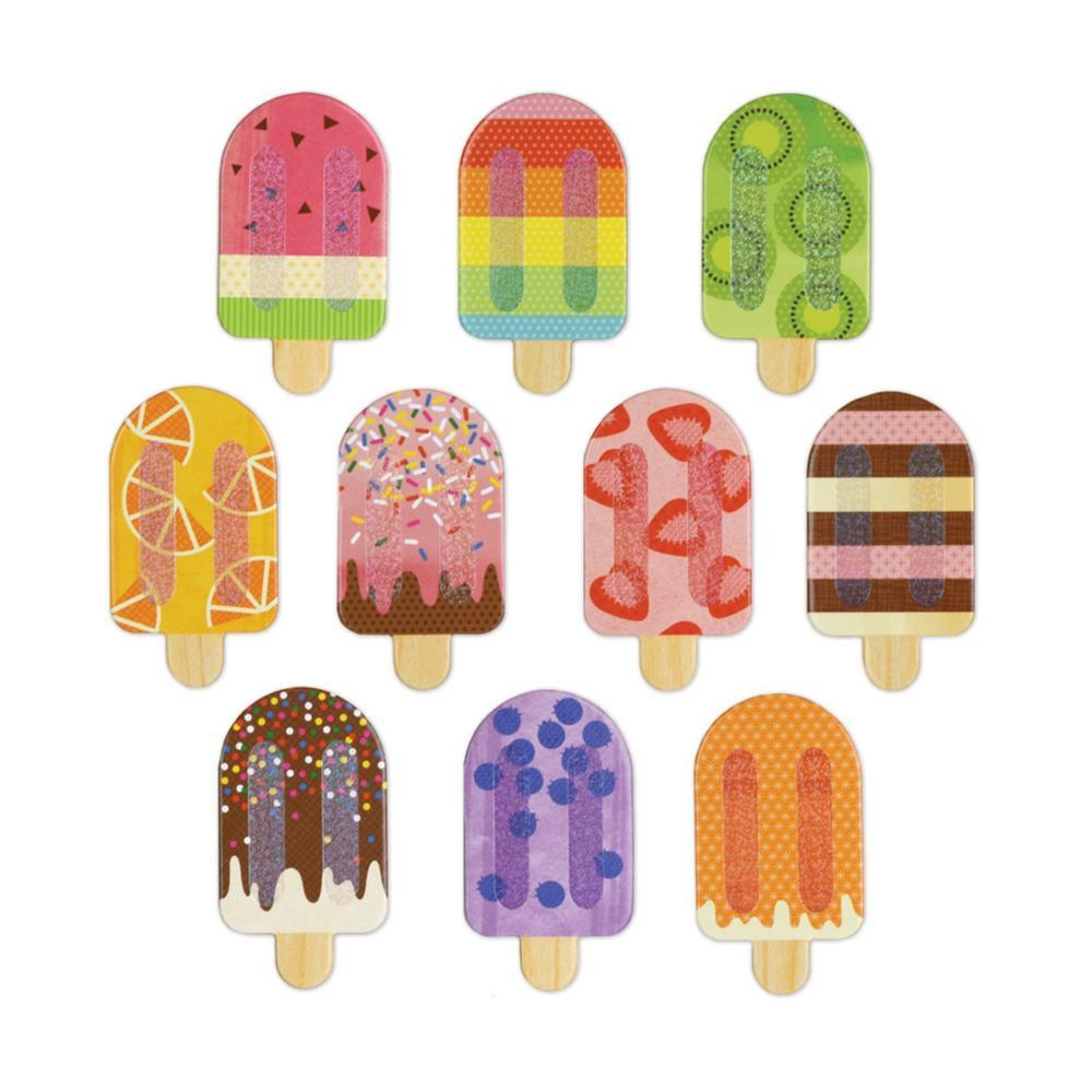 Petit Collage Ice Pops Memory Game ICE.POPS