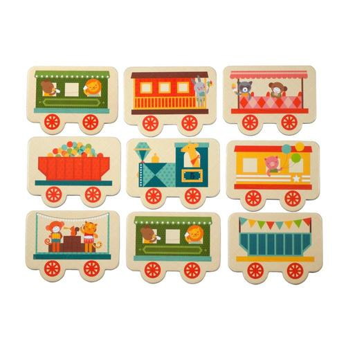Petit Collage All Aboard Memory Game