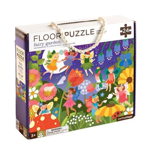 Petit Collage Fairy Garden Floor Puzzle
