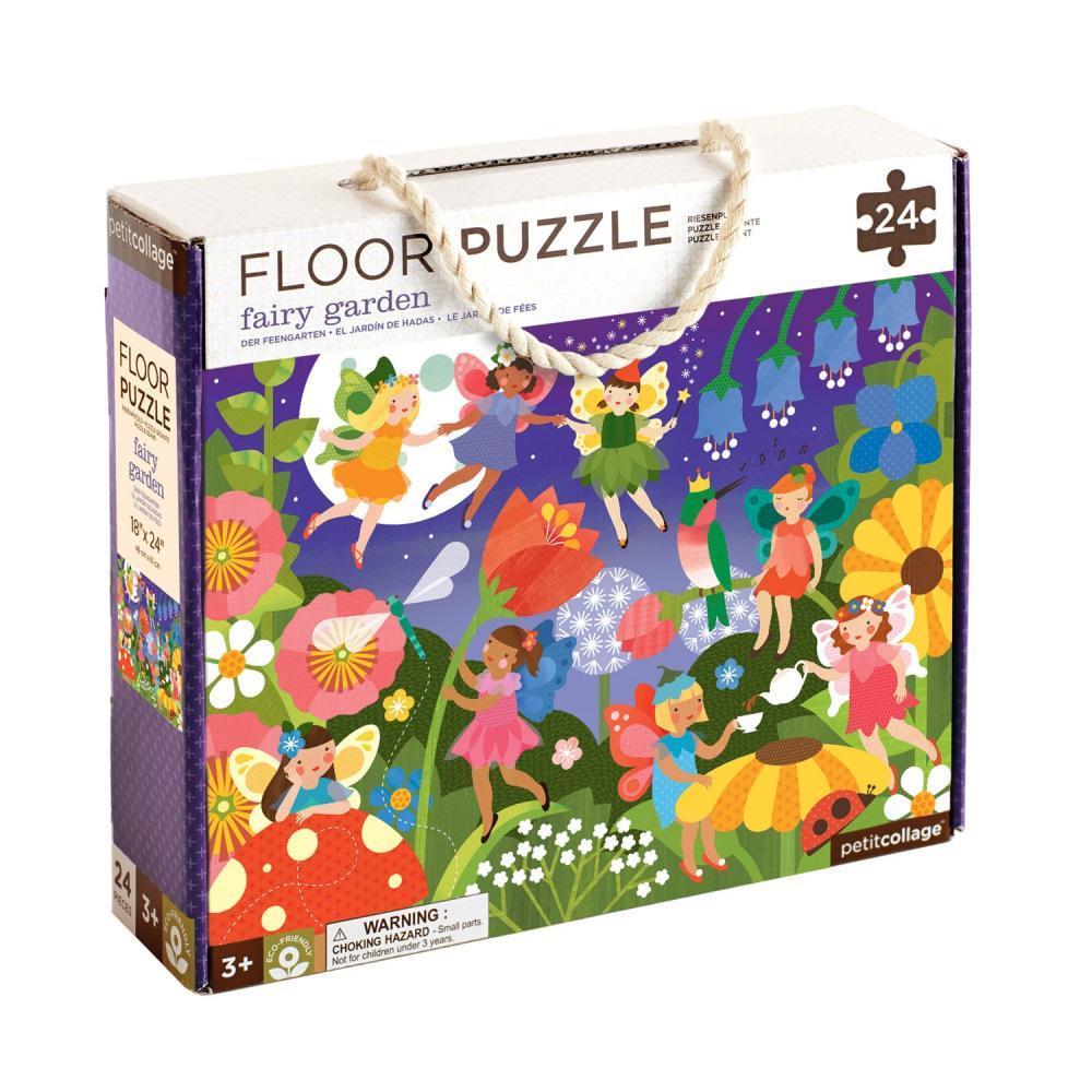 Petit Collage Fairy Garden Floor Puzzle FAIRY.GARDEN