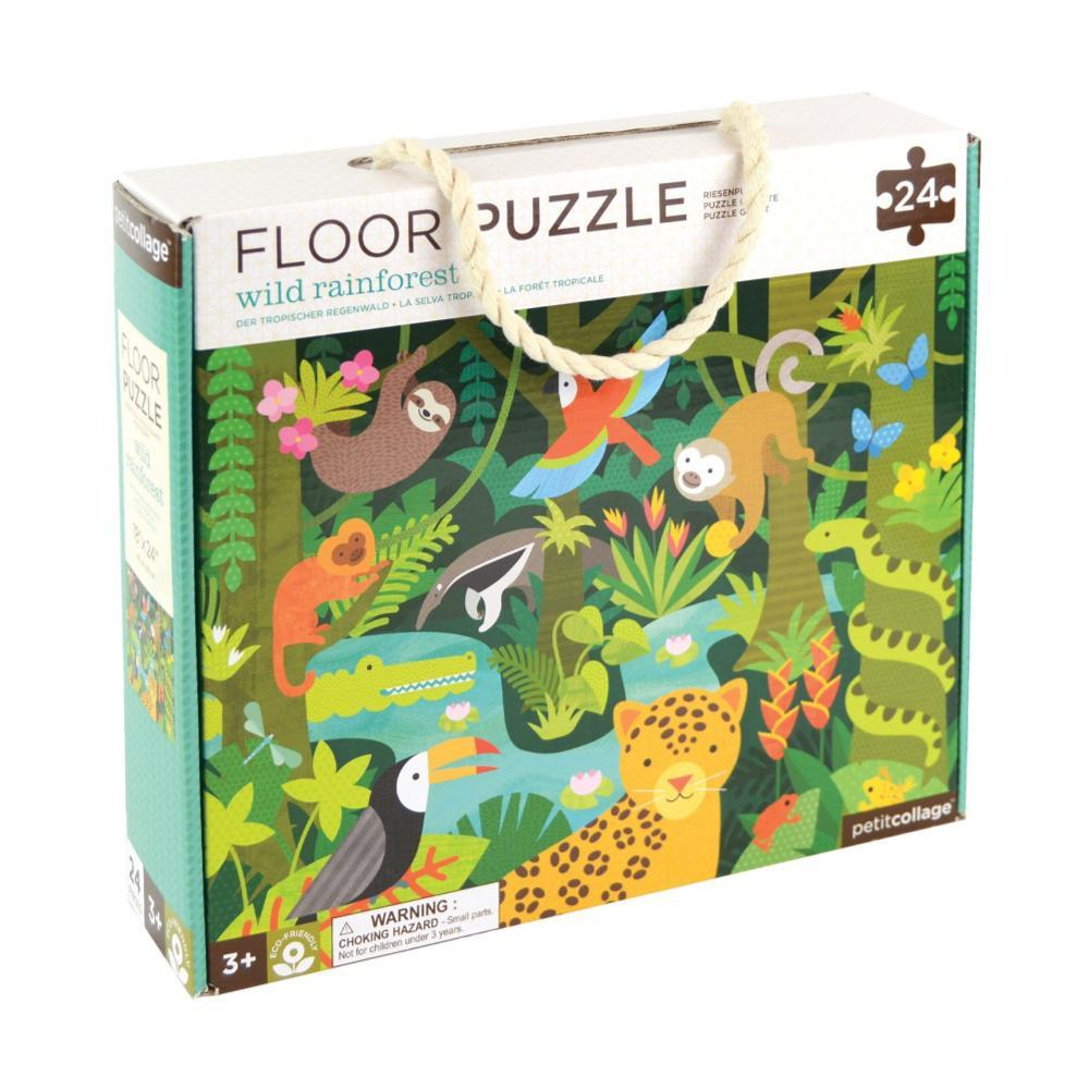 Petit Collage Wild Rainforest Floor Puzzle WILD.RAINFOREST