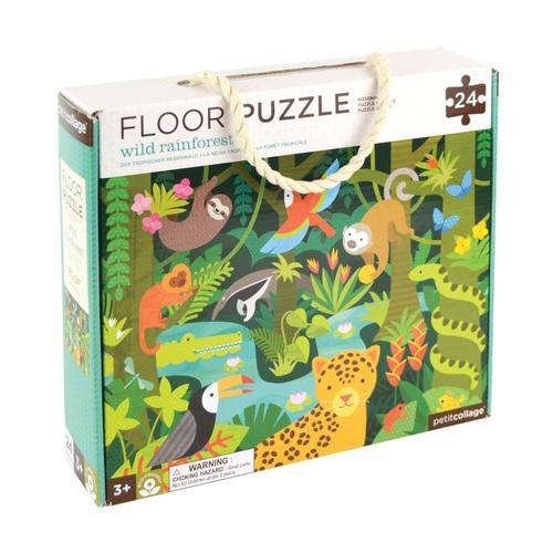 Petit Collage Wild Rainforest Floor Puzzle Wild.Rainforest