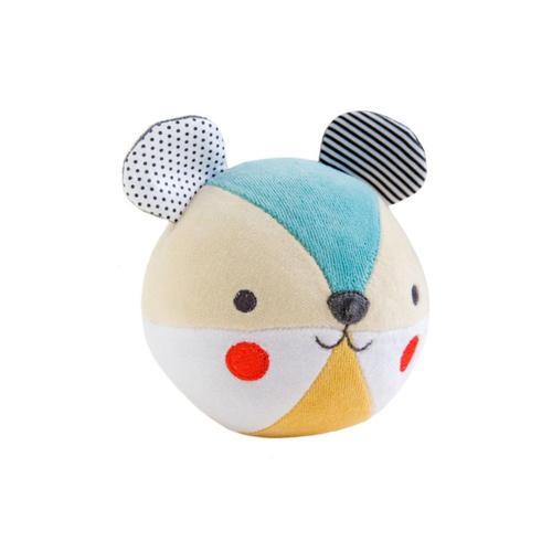 Petit Collage Bear Organic Chime Ball