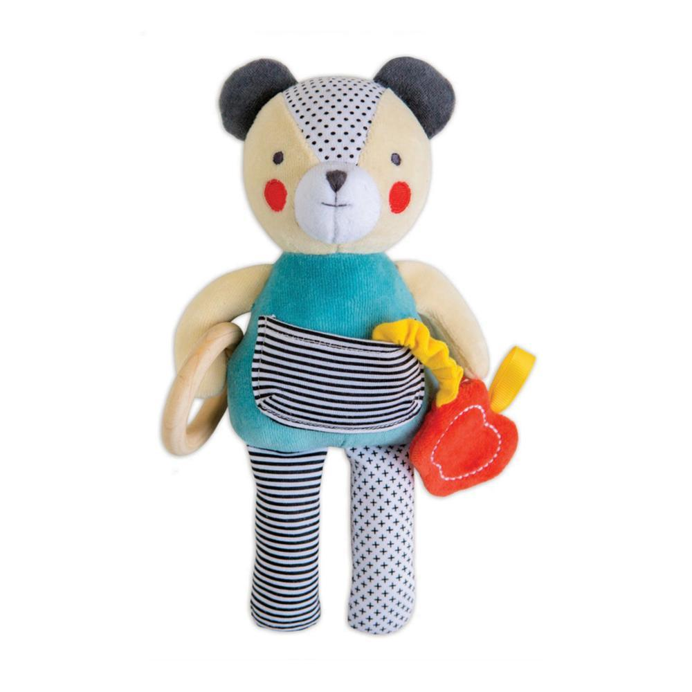 Petit Collage Busy Bear Organic Activity Doll