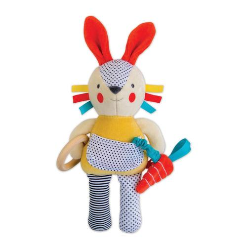 Petit Collage Busy Bunny Organic Activity Doll