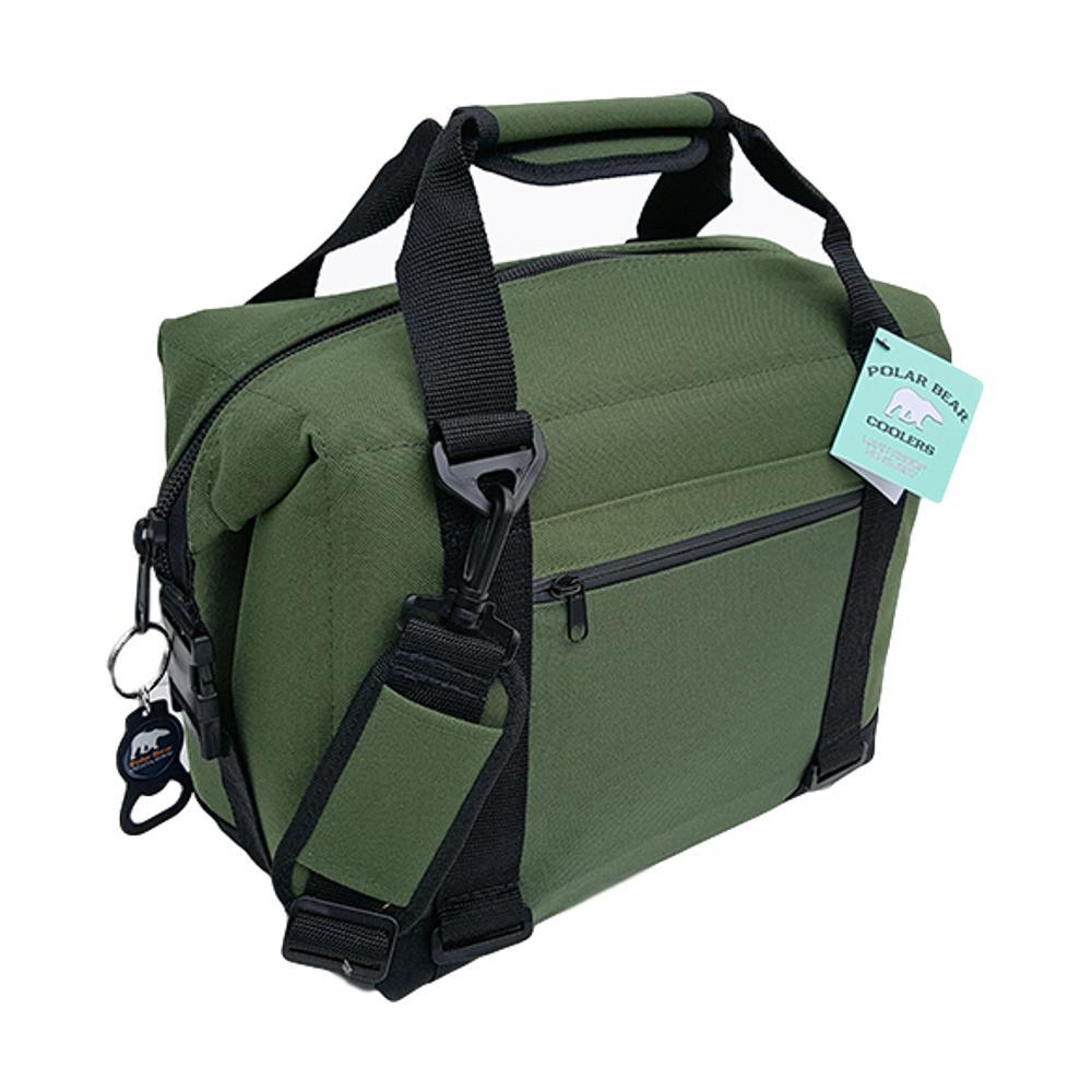 Polar Bear 12 Pack Nylon Soft Cooler GREEN