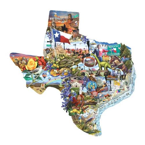 SunsOut, Inc. Welcome to Texas! 1000-Piece Jigsaw Puzzle