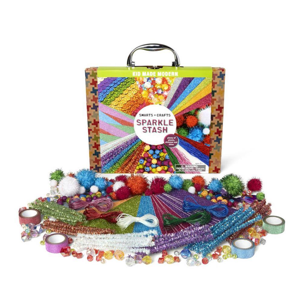 Kid Made Modern Smarts And Crafts Sparkle Stash Craft Kit