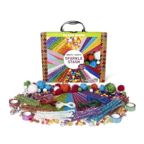 Kid Made Modern Smarts and Crafts Sparkle Stash Craft Kit