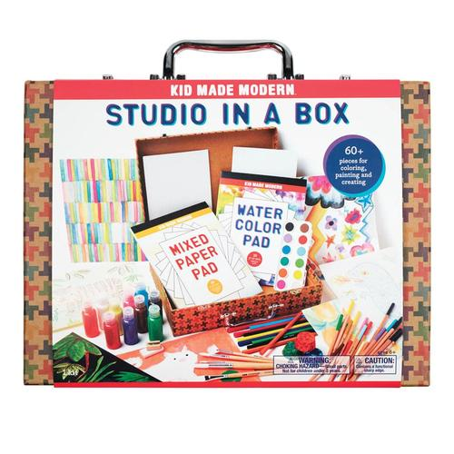 Kid Made Modern Studio in a Box Art Supply Kit