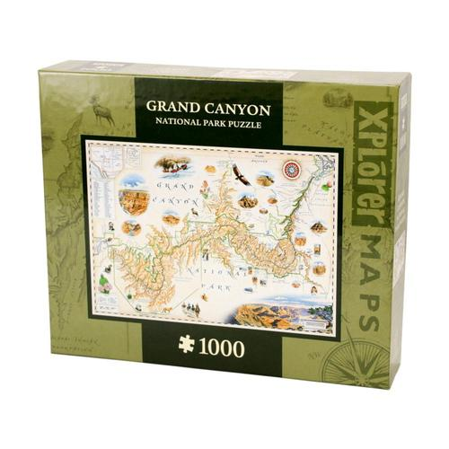 Xplorer Grand Canyon Map 1000 Piece Jigsaw Puzzle