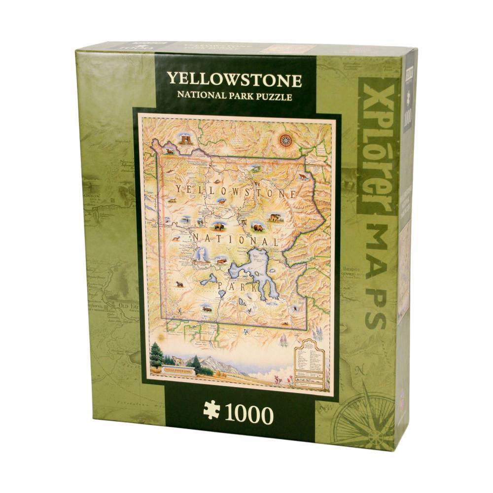 Xplorer Yellowstone Map 1000 Piece Jigsaw Puzzle