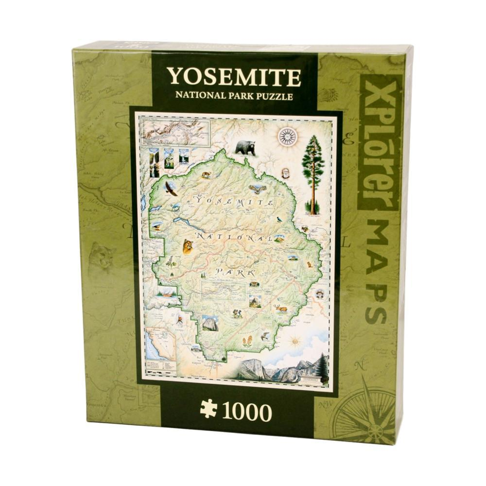 Xplorer Yosemite Map 1000 Piece Jigsaw Puzzle