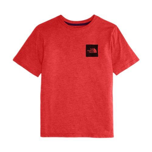 The North Face Boys' Short-Sleeve Tri-Blend Tee