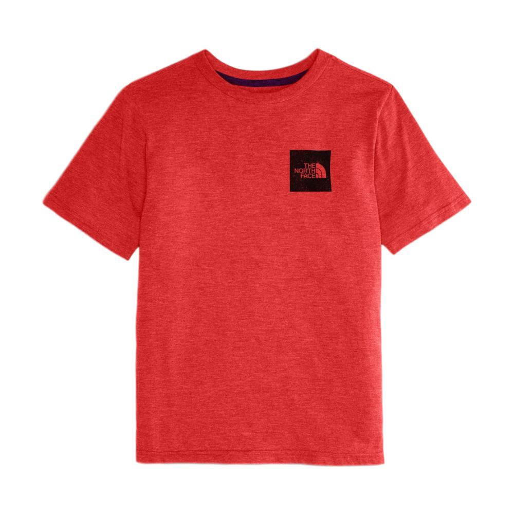 The North Face Boys' Short-Sleeve Tri-Blend Tee RED674