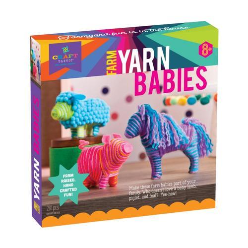 Craft-tastic Farm Yarn Babies Kit