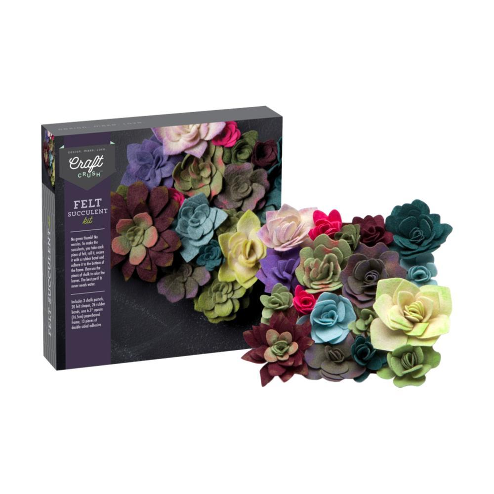 Craft Crush Felt Succulents Kit