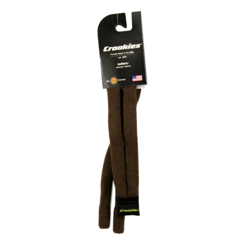 Croakies Cotton Suiters Eyewear Retainers BROWN
