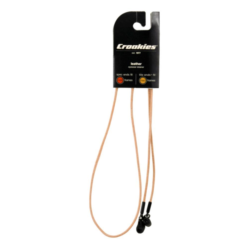Croakies Premium Leather Tite Cords Eyewear Retainers TAN