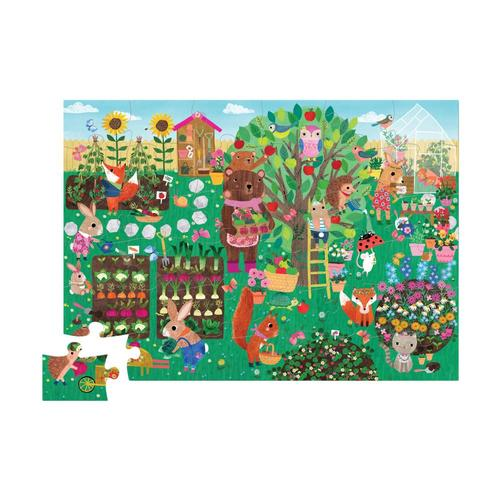 Crocodile Creek Bear & Friends Shaped Puzzle - 36pc