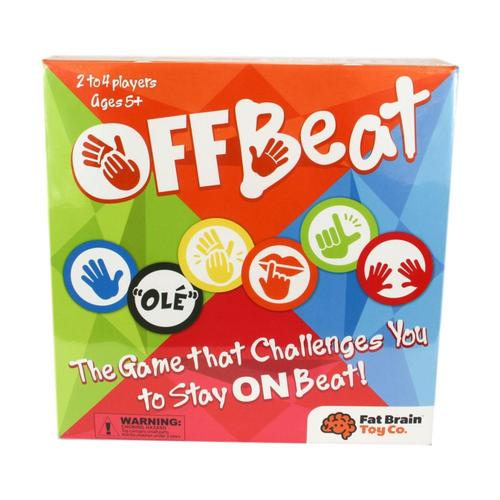 Fat Brain Toys OffBeat Game of Rhythm