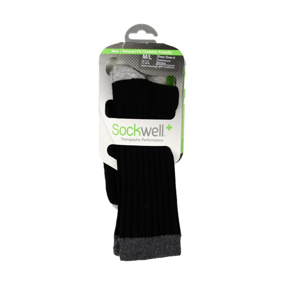 Sockwell Men's Easy Does It Diabetic Fit Socks BLACK_900