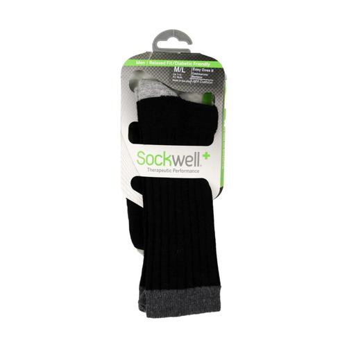 Sockwell Men's Easy Does It Diabetic Fit Socks