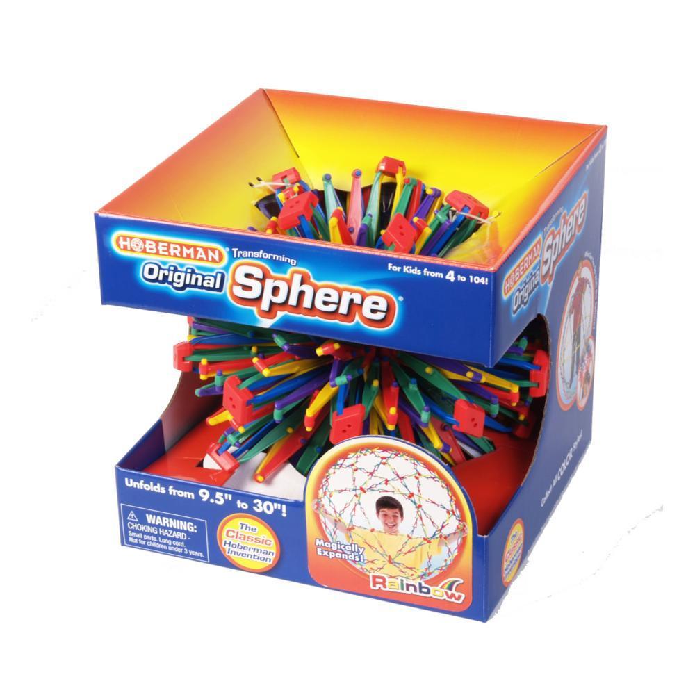Hoberman Original Sphere Toy RAINBOW