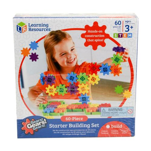 Gears! Gears! Gears! 60 Piece Starter Building Set50 Piece Super Building Set