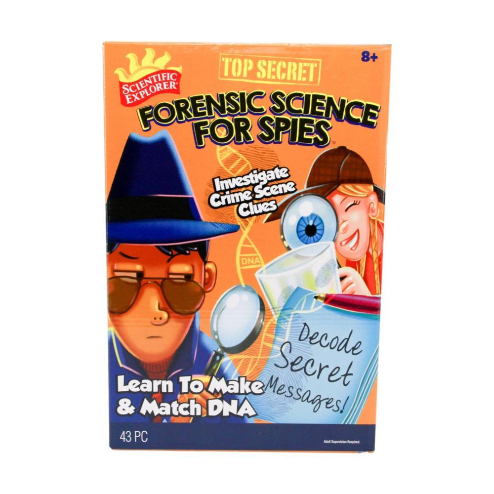 Scientific Explorer Forensic Science For Spies