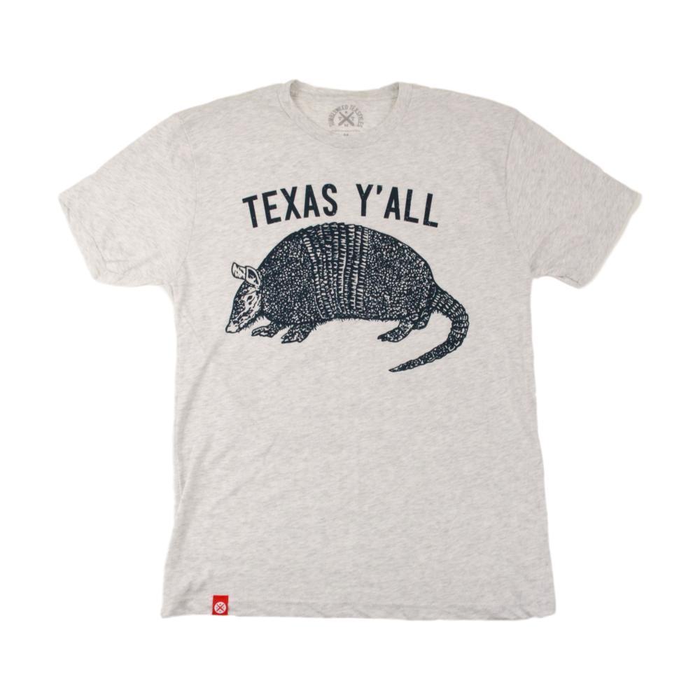 Tumbleweed TexStyles Unisex Armadillo Y'all T-Shirt HTHWHITE