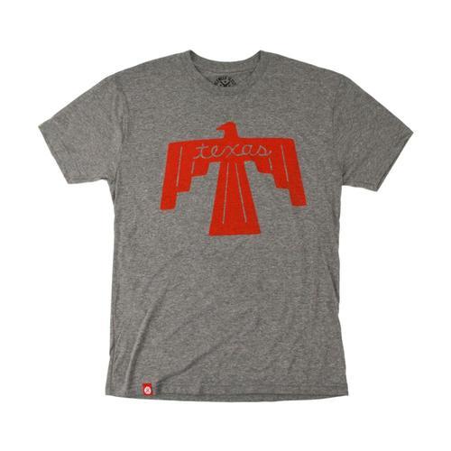 Tumbleweed TexStyles Unisex Thunderbird Texas T-Shirt Heathergrey