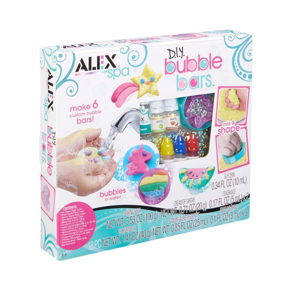 Alex Spa Diy Bubble Bars