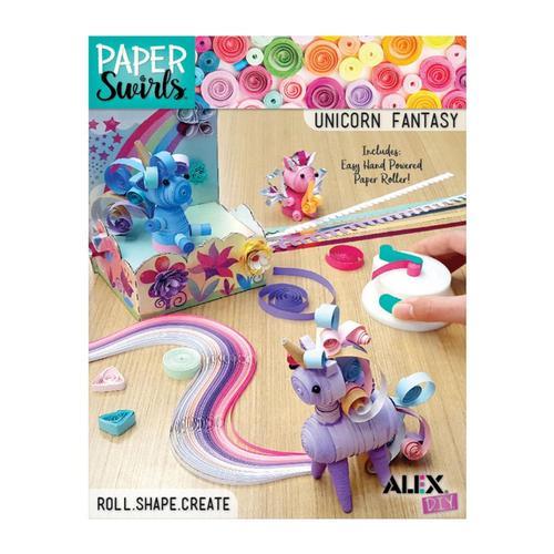 ALEX DIY Paper Swirls Unicorn Fantasy