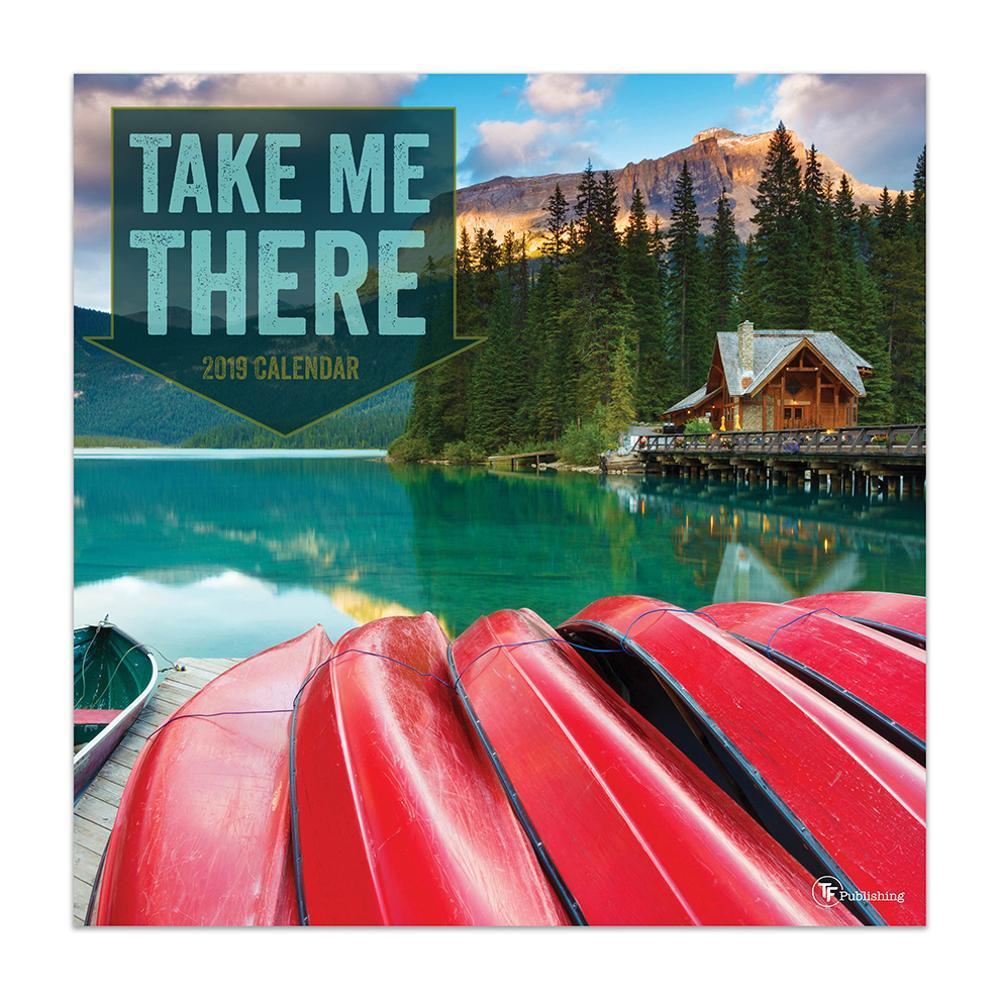 TF Publishing 2019 Take Me There Wall Calendar 2019