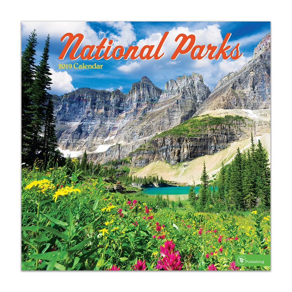Tf Publishing 2019 America's National Parks Wall Calendar