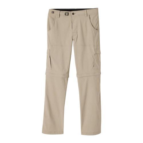 prAna Men's Stretch Zion Convertible Pants - 32in Dkkhaki