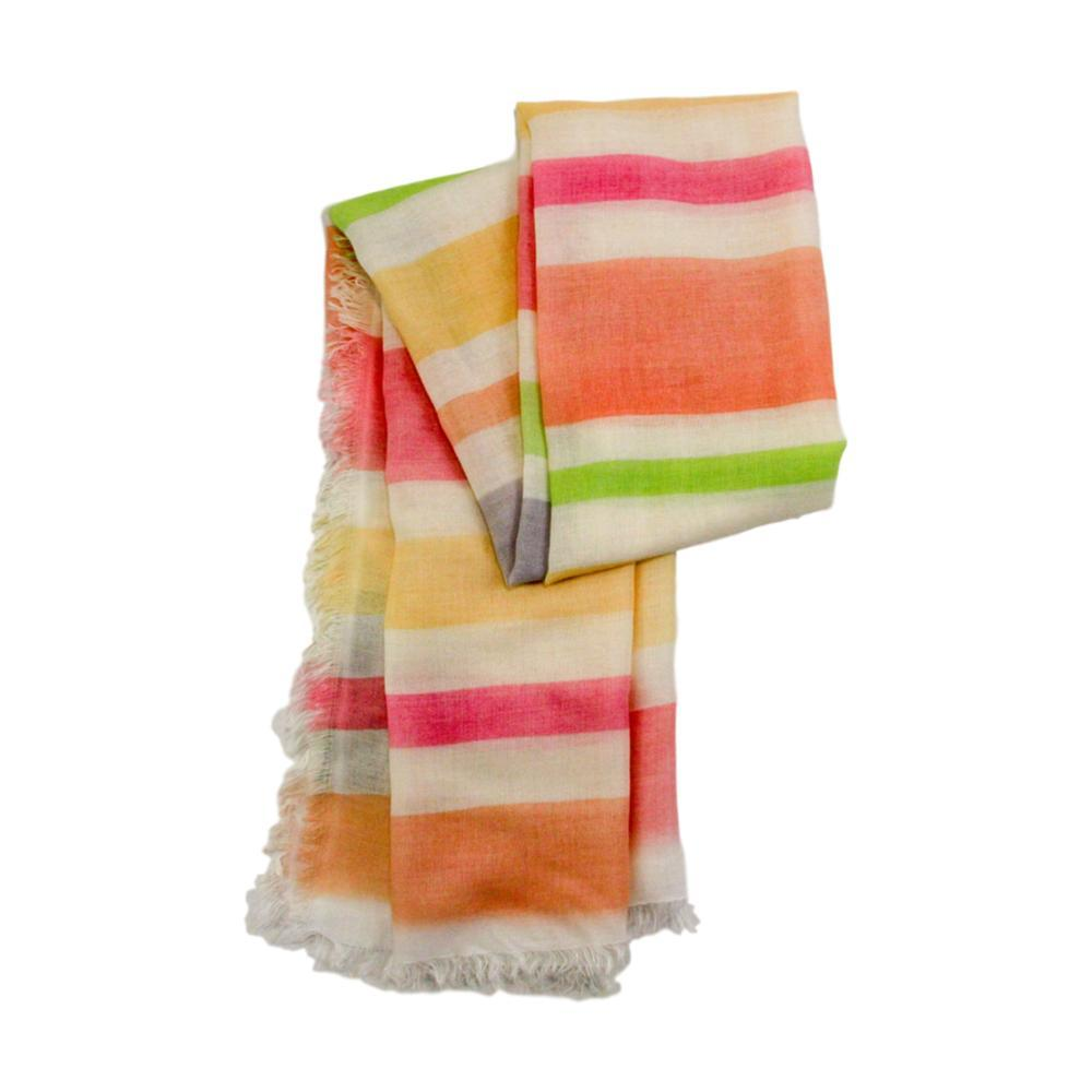 V. Fraas Watercolor Stripes Scarf CORAL_320
