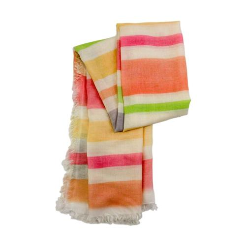 V. Fraas Watercolor Stripes Scarf