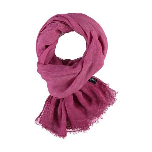 V. Fraas Solid Scarf Pink_450