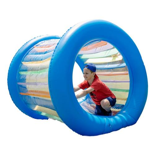 HearthSong Roll With It! Giant Inflatable Colorful Wheel