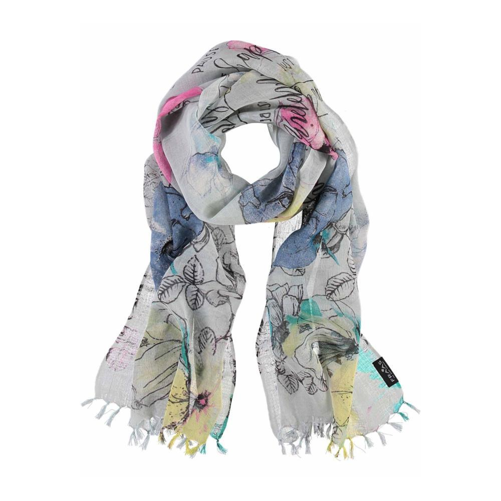 V. Fraas Just Be Happy Scarf TURQUOI_610