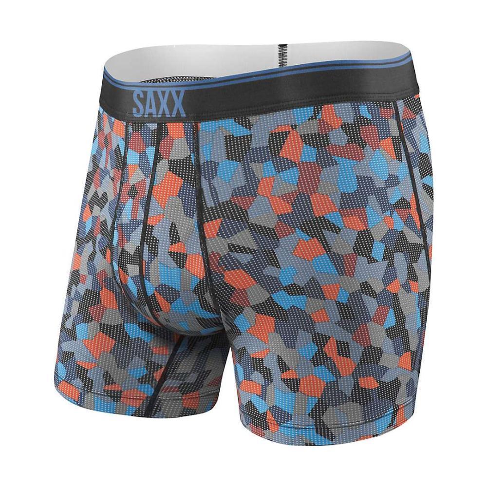 Saxx Men's Quest 2.0 Boxer Briefs NAVYTILECA