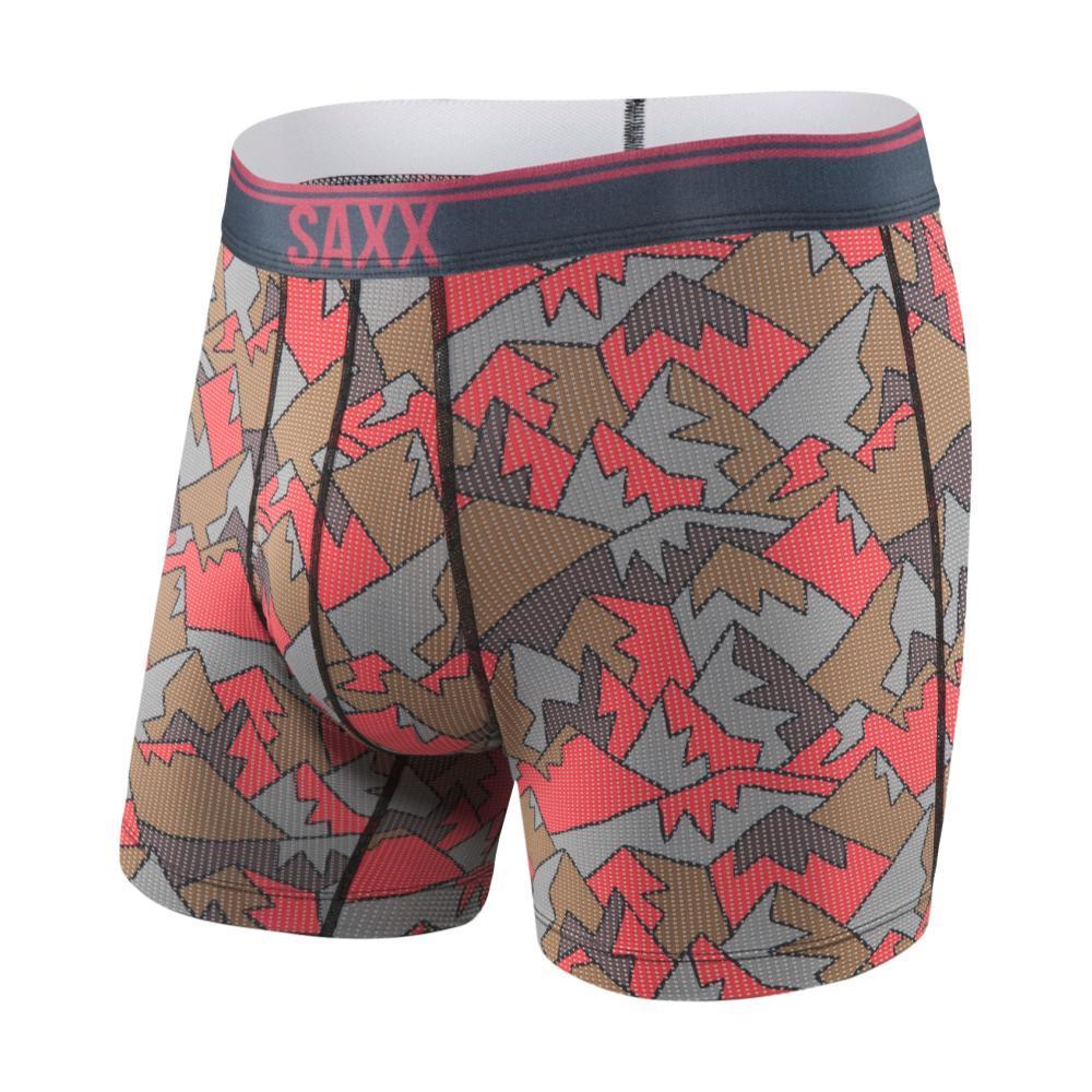 Saxx Men's Quest 2.0 Boxer Briefs RDMOUNTTOP