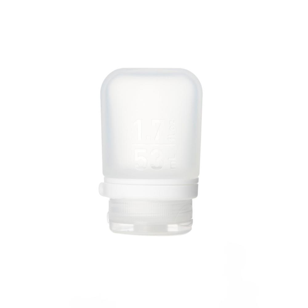 Humangear GoToob+ 1.7oz Silicone Bottle CLEAR